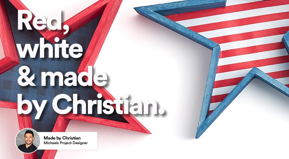Red, white & made by Christian