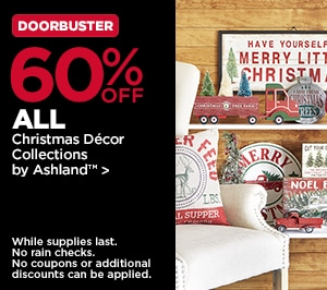 60% OFF ALL Christmas Décor Collections by Ashland