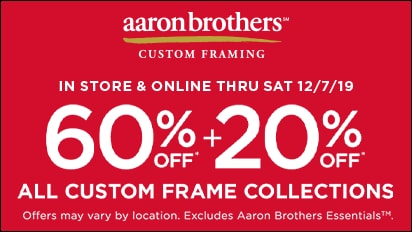 60% OFF + 20% OFF ALL Custom Frame Collections