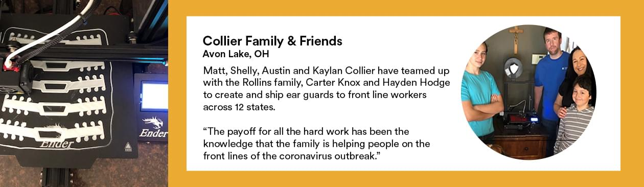 Profile of the Collier Family & Friends