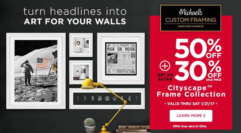 50% Off + 30% Off Cityscape Frame Collection