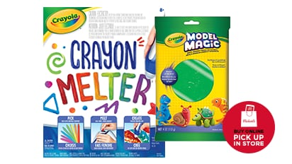 Buy One, Get One 50% OFF ALL Crayola. Buy Online Pick Up In-Store