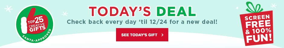 Today's Deal! Check back every day 'til 12/24 for a new deal!