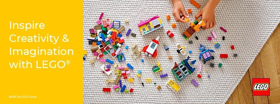 Inspire creativity & Imagination with LEGO®