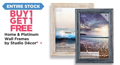 Buy One Get One Free Home & Platinum Wall Frames By Studio Decor