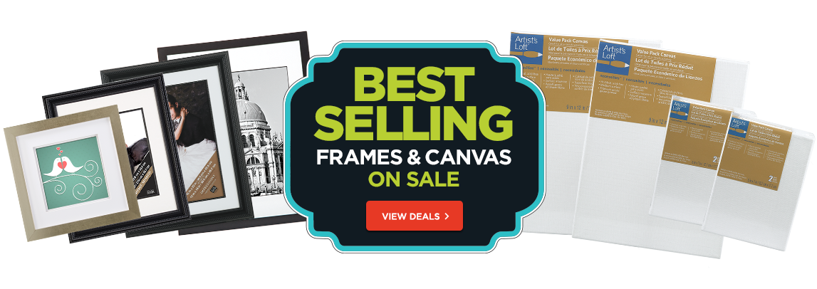Frames and Canvas Sale