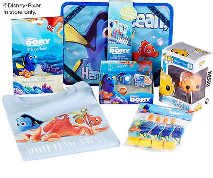 Finding Dory Crafts, Toys & More