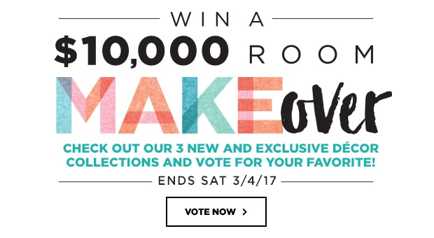 Win a $10,000 Room MAKEover