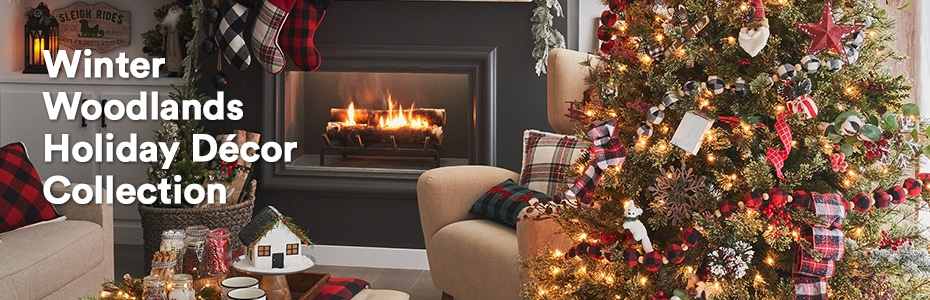 Winter Woodlands Holiday Décor Collection