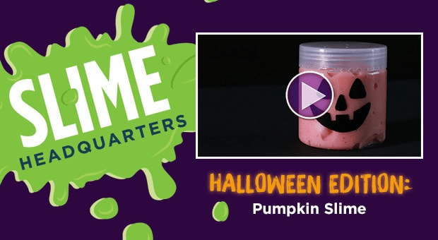 Halloween Edition: Pumpkin Slime