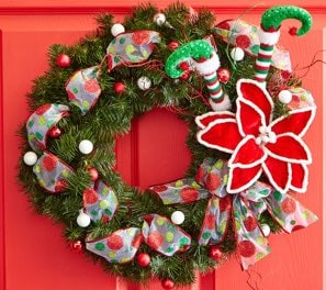 Classic: Red And Green Christmas Wreath