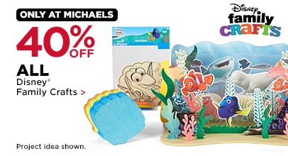 40% OFF ALL Disney® Family Crafts