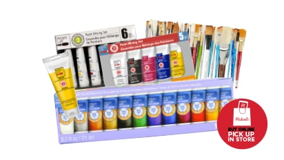 Buy 2, Get 1 FREE ALL Artist's Loft® Paints Open Stock & Sets. ALL Artist Open-Stock Brushes. Buy Online Pick Up In-Store