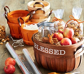 Fall Baskets & Decorative Boxes