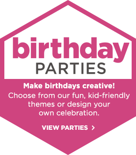 Birthday Parties! Make birthdays creative!