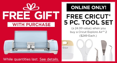 Cricut Free Gift with Purchase