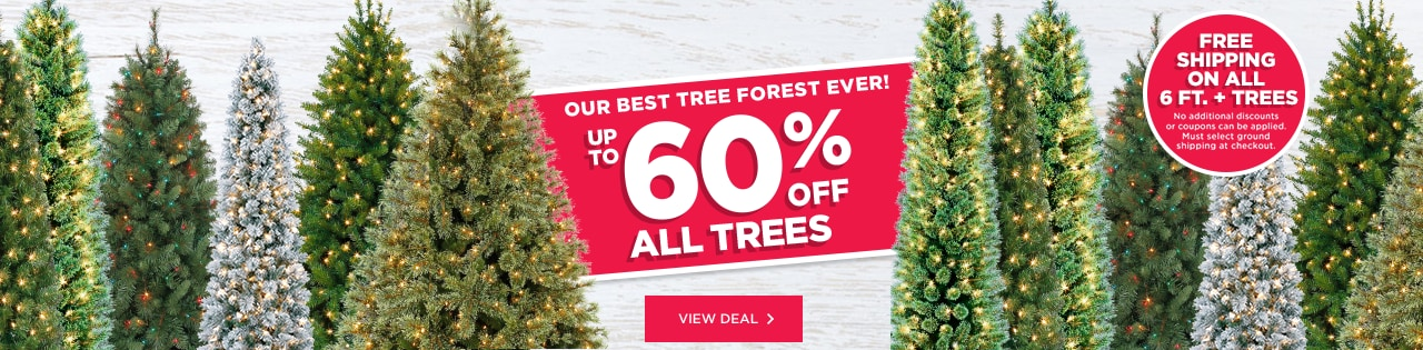Santa Make Shop Our Best Tree Forest Ever! Up to 60% OFF All Trees