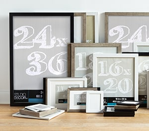 Picture Frame Sizes Michaels