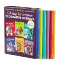 $29.99 Coloring for Everyone 6-Book Set