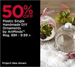 50% OFF Plastic Single Handmade DIY Ornaments by ArtMinds
