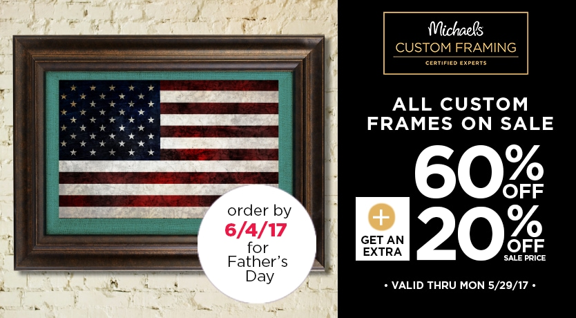 60% + 20% Off All Custom Frame Collections