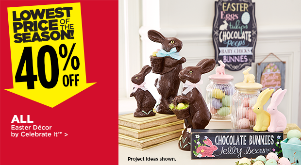 40% Off Easter Décor by Celebrate It