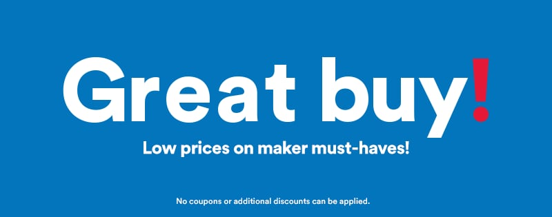 Great Buy! Loew Prices on Maker Must-Haves