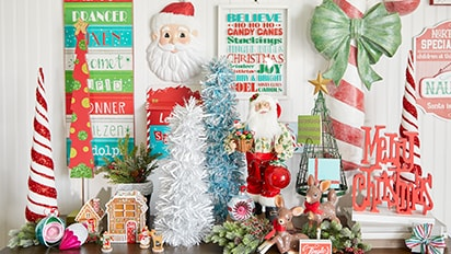 50% OFF ALL Christmas Decor Collections