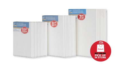 "DoorBuster - $10 Each ALL Super Value Canvas Packs. 8"" x 10"" - 16"" x 20"". Buy Online Pick Up In-Store"