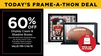60% OFF Display Cases & Shadow Boxes. Buy Online Pick Up In Store
