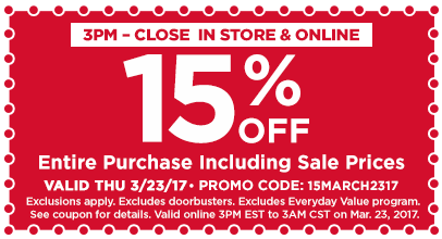 15% Off Entire