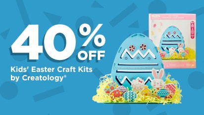 40% OFF Kid's Easter Craft Kits by Creatology®