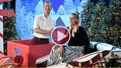 It's a Christmas MAKE Off With Neil Patrick Harris & Busy Philipps!