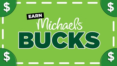 Shop In Store (Michaels Bucks) Sun 12/16 - Sat 12/29/18