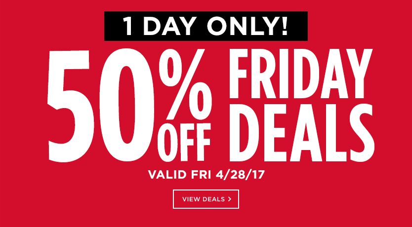 50% Off 2-Day Deals
