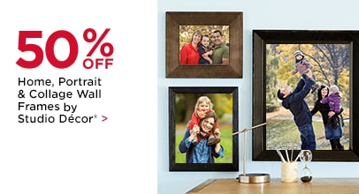 50% OFF Home, Portrait & Collage Wall Frames by Studio Décor®