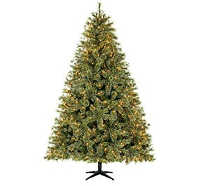 7 to 9 feet - Flat Back Christmas Tree