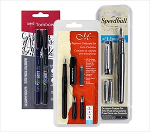 Calligraphy Pens & Markers