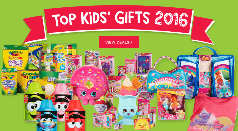 Top Kids Gifts 2016