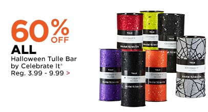 60% OFF Halloween Tulle Bar by Celebrate It