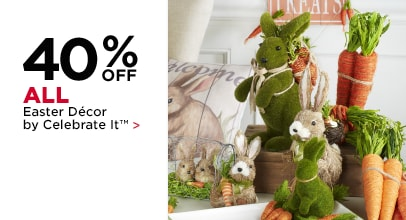 40% Off ALL Easter Décor by Celebrate It