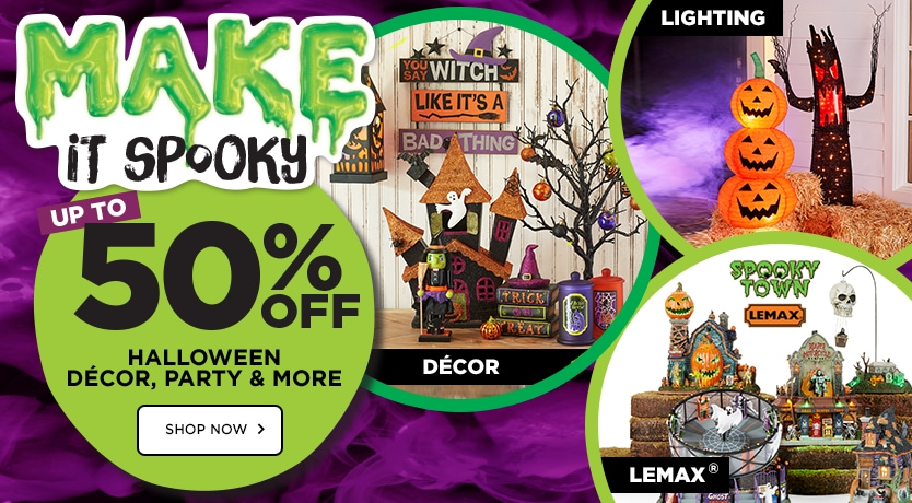MAKE it Spooky - 50% OFF Halloween Décor, Party & More by Ashland