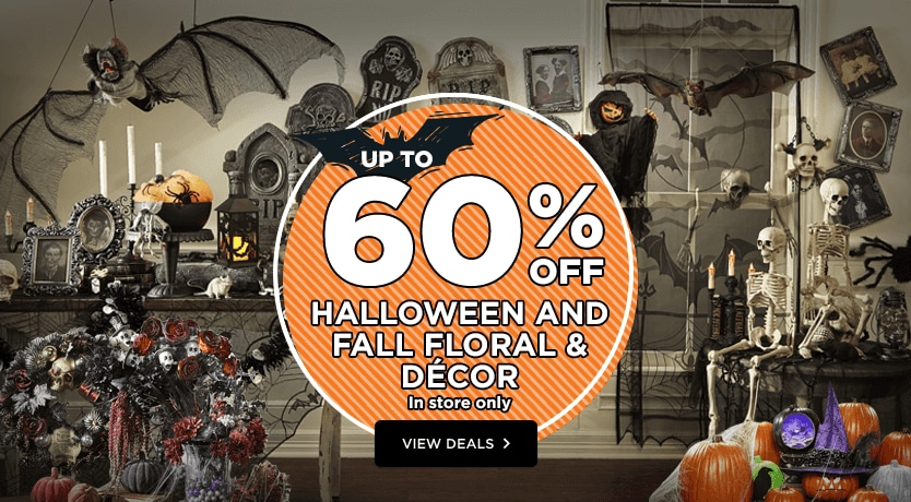 Up To 60% Off Halloween & Fall Floral & Decor