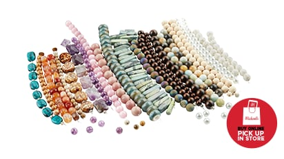 Deal Dash! 55% OFF All Strung Beads. Reg. $3.99- 9.99. Buy Online Pick Up In-Store