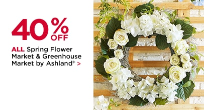 40% Off All Spring Flower Market & Greenhouse Market by Ashland