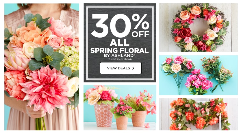 30% OFF ALL Spring Floral By Ashland