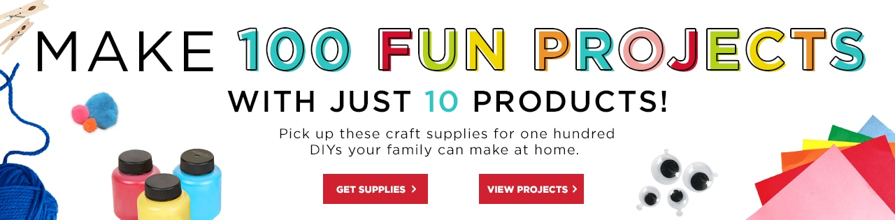 Make one hundred fun projects