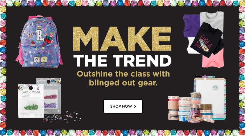 Make The Trend Outshine The Class With Blinged Out Gear