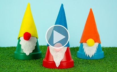 Featured Video: Clay Pot Gnomes