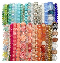70% Off All Green Label Strung Beads